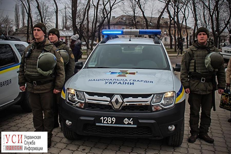 В Измаиле гвардейцы получили два кроссовера для патрулирования района (фото) «фото»