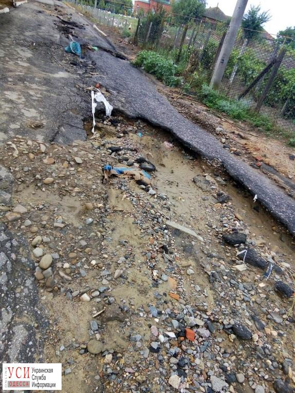 Непогода в Одесской области затопила и обесточила несколько населенных пунктов (фото) «фото»