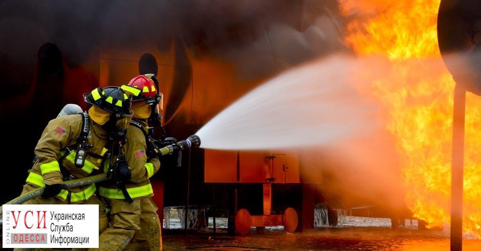 Ночью в Белгород-Днестровском районе горели рынок и база отдыха «фото»