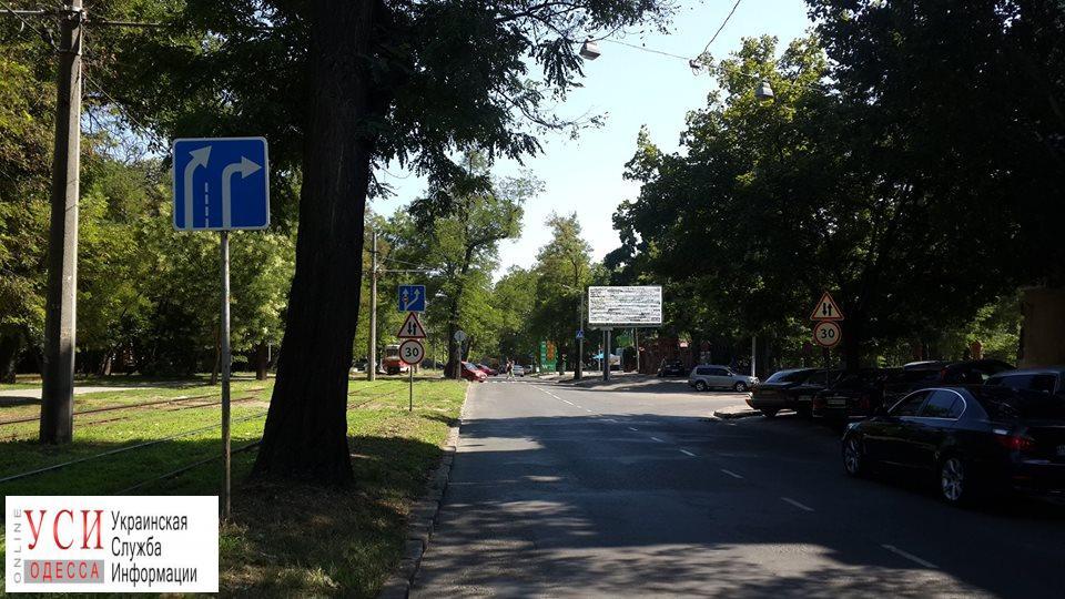 Неразбериха и коллапс у телецентра: Фонтанскую дорогу временно сделали двусторонней (фото) «фото»