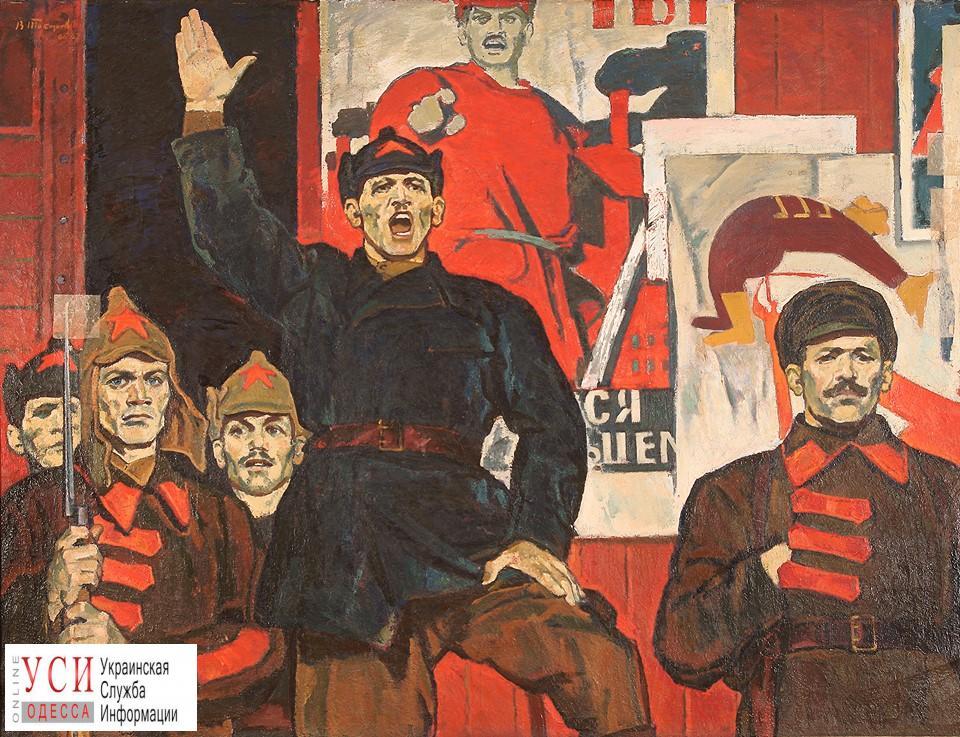 В Одесском худмузее рухнула картина «Коммисар»: Ройтбурд заявил о «преступлении перед культурой Украины» «фото»