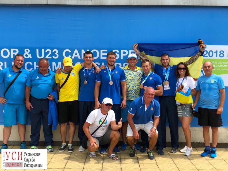Спортсмен из Одесской области взял серебро на Чемпионате мира по гребле «фото»