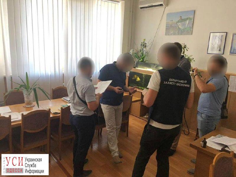 Проректору Одесского экологического университета, попавшемуся на взятке, назначили залог в полмиллиона гривен «фото»