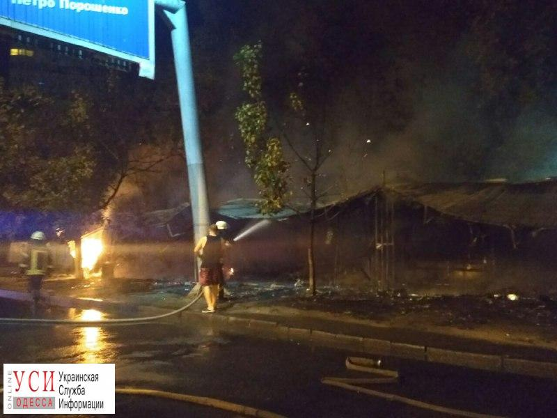 Четыре МАФа сгорели в районе Вузовского (фото) «фото»