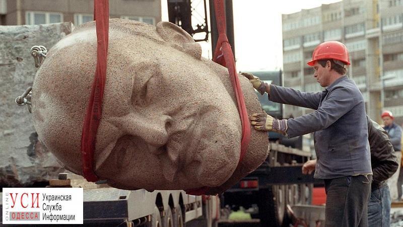 В Одесской области нашли очередные скульптуры Ленина: Вятрович жалуется на отсутствие реестра памятников «фото»