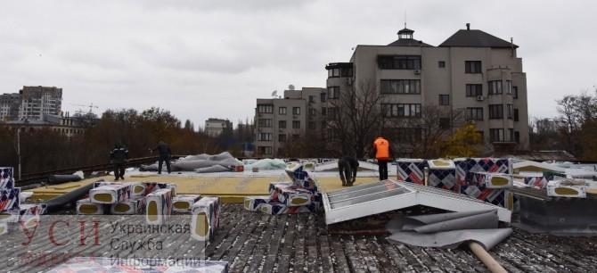 На «Олимпийце» меняют крышу и устанавливают кондиционеры (фото) «фото»