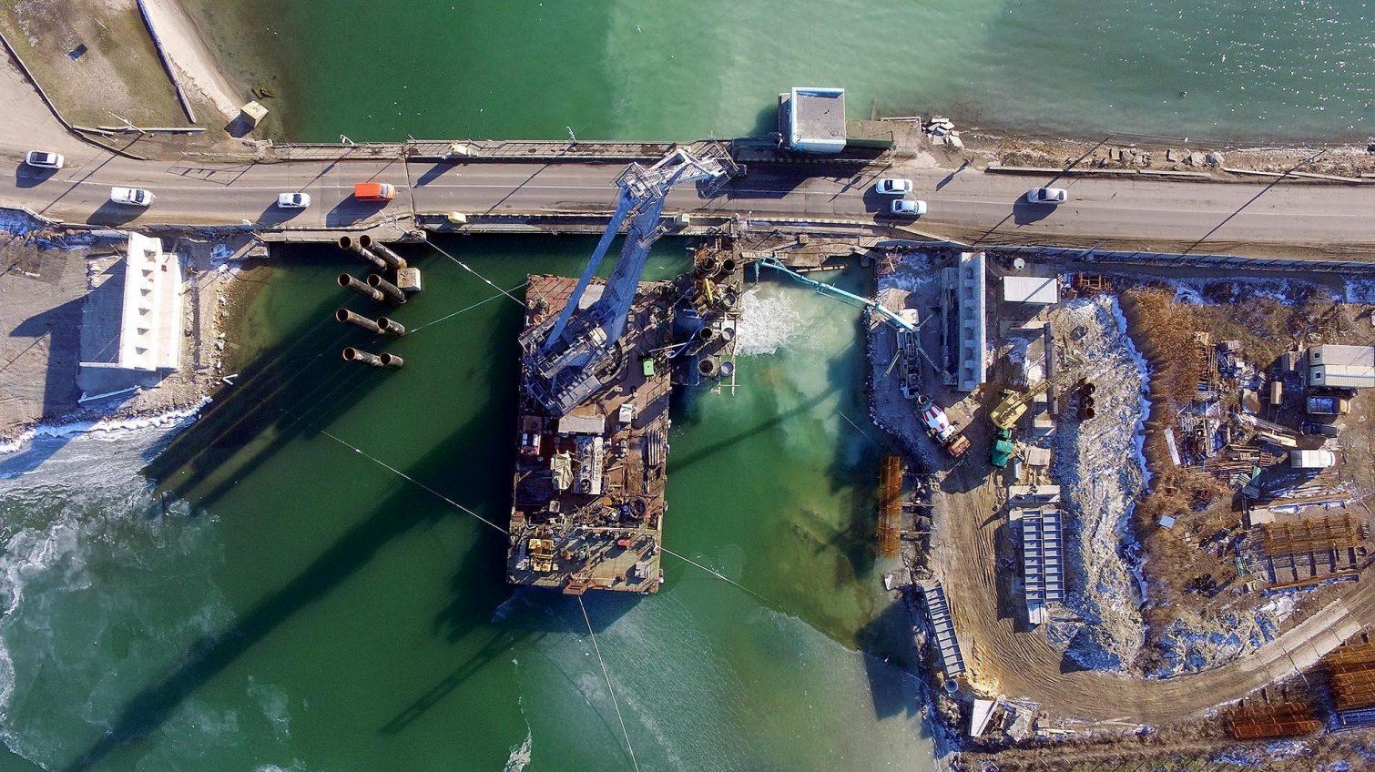 «Золотой» мост через Сухой лиман, строительство которого продвигал Юрий Крук, проверит НАБУ «фото»