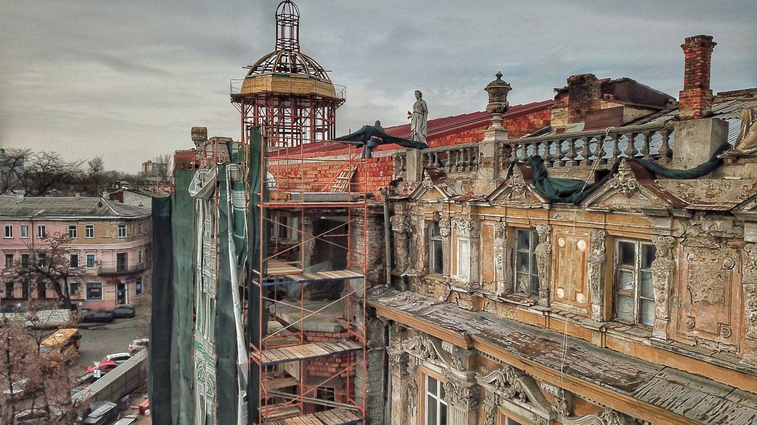 В мэрии признали ошибки при сносе лепнины с дома Либмана, в итоге которых пострадал памятник архитектуры «фото»