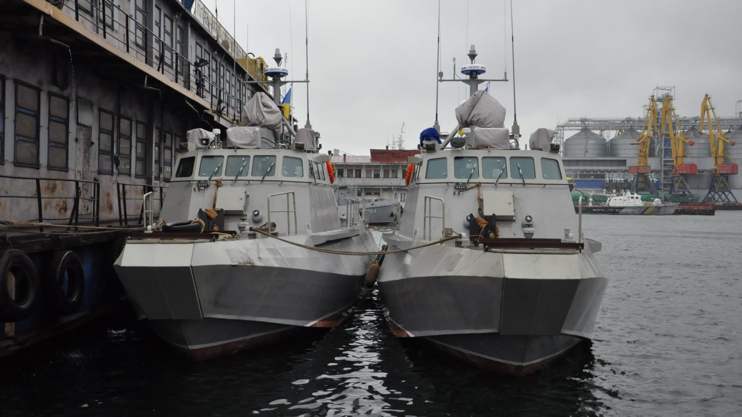 Новые «Кентавры» построены по стандартам НАТО — катера показали хорошие характеристики на испытаниях в Одессе (фото) «фото»