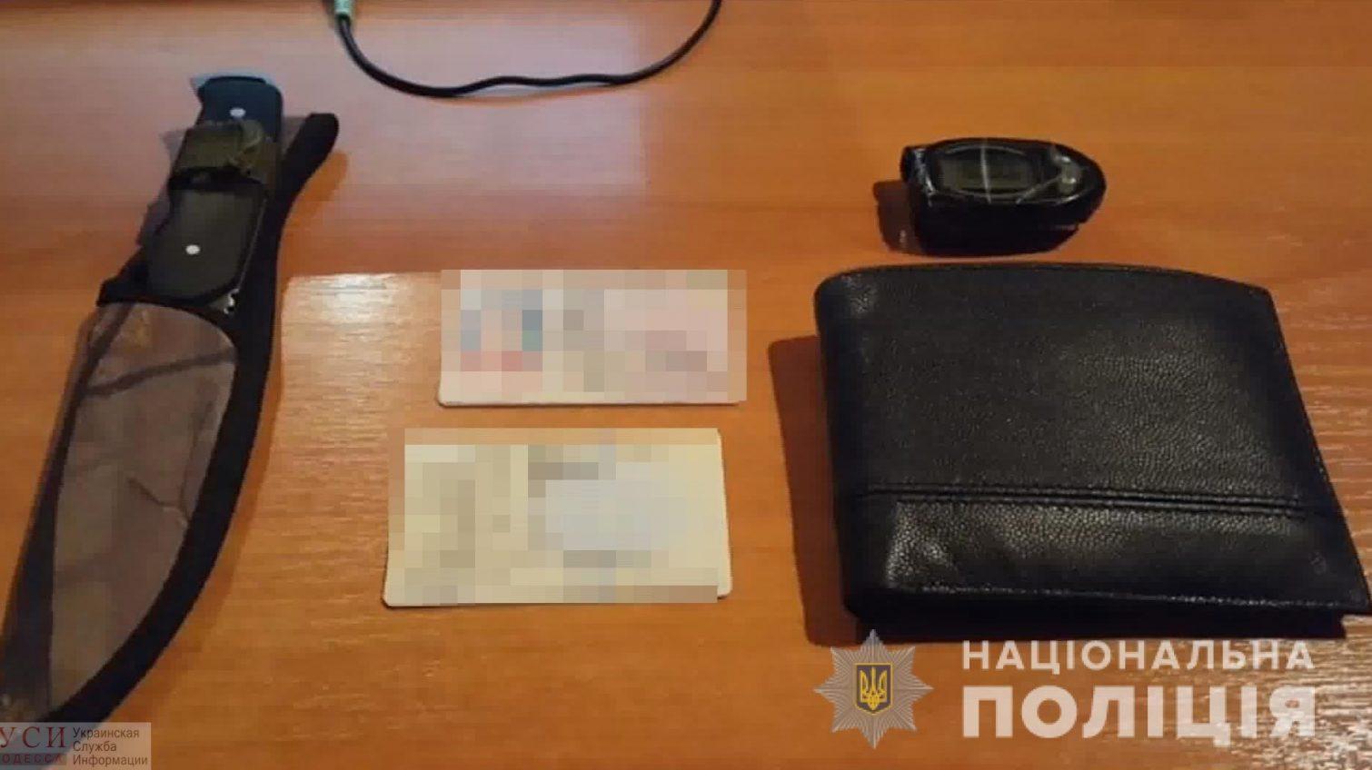 В Одессе задержан автовор со сканером, с помощью которого он быстро вскрывал авто (фото) «фото»