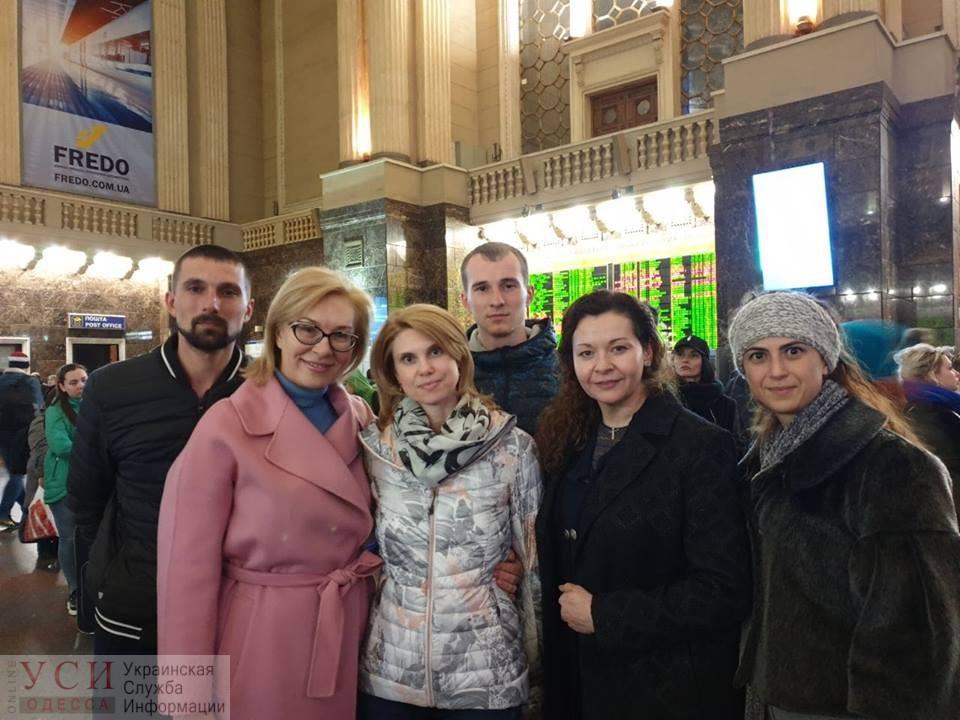 Украинский омбудсмен поехала в Москву на суд по плененным морякам ВМСУ «фото»