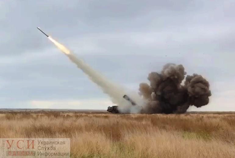 Под Одессой снова испытали ракетный комплекс «Ольха-М» (видео) «фото»