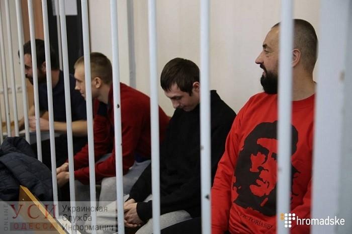 Суд в Москве оставил под стражей одесситов-моряков ВМСУ «фото»