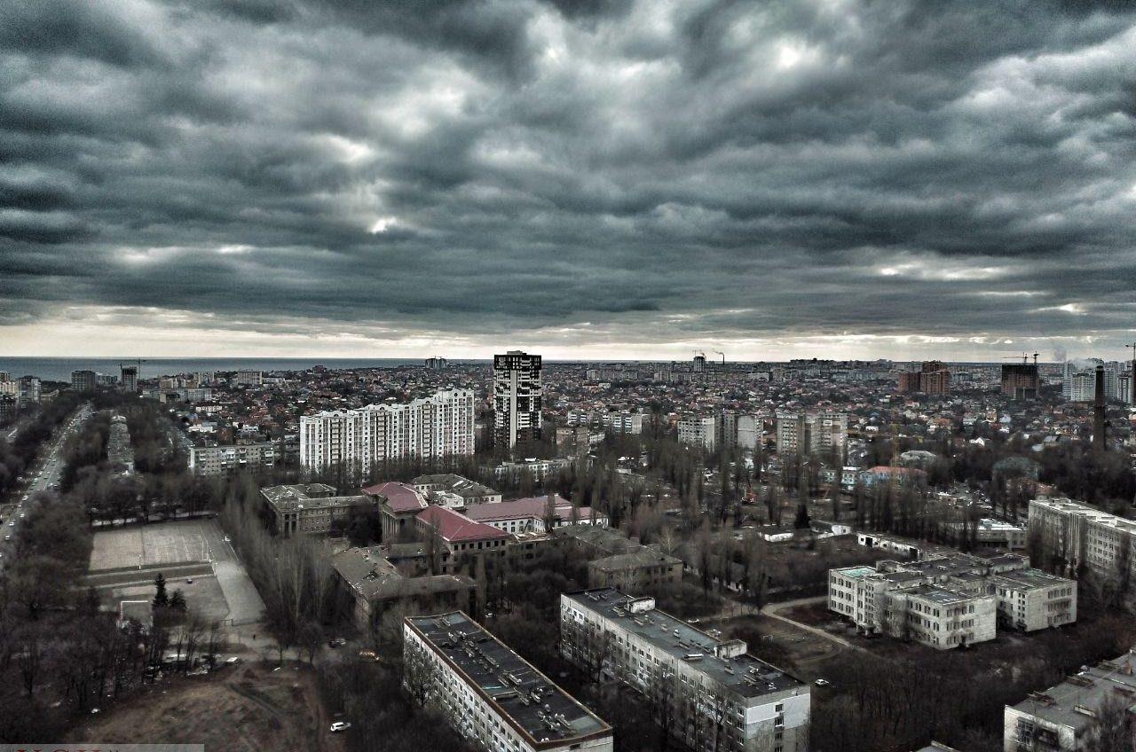 В Одессе будет пасмурный и дождливый день «фото»