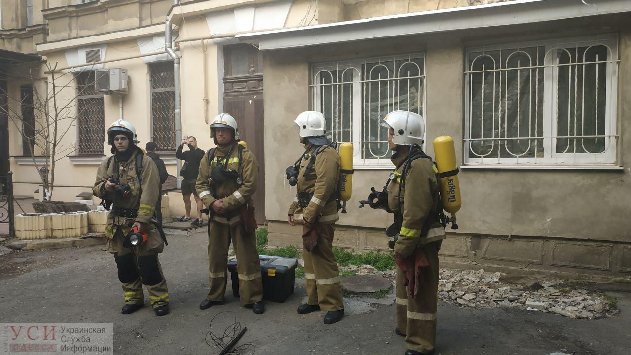 Пожар в подвале на Тираспольской: погибли двое бездомных (фото) «фото»