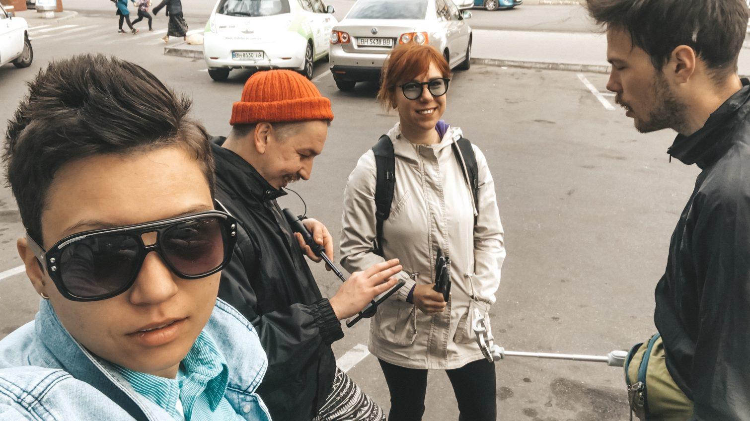 Эксперимент УСИ: как быстрей добраться утром с Таирова в центр – на машине, маршрутке, велосипеде или бегом? (видео) «фото»