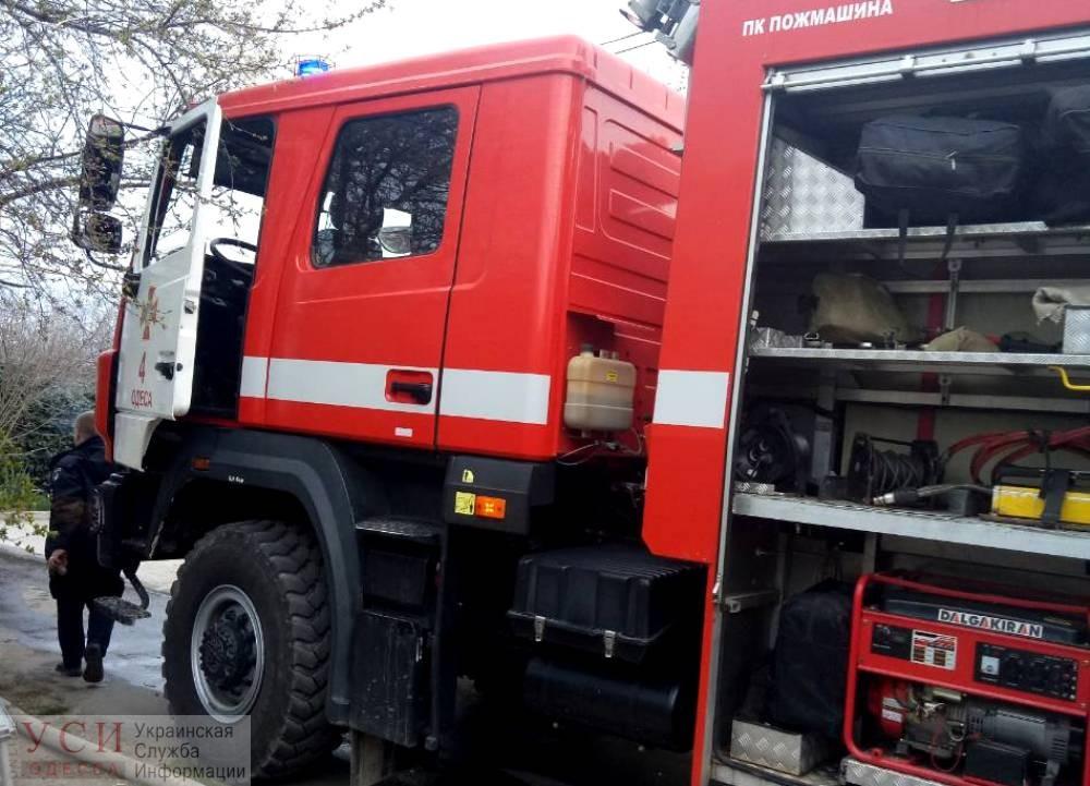 В Усатово сгорел частный дом: погиб мужчина (фото) «фото»