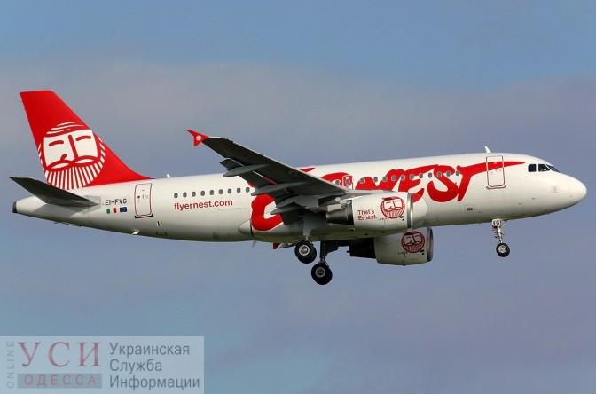 Итальянский лоукост в апреле начнет летать из Одессы в Рим «фото»