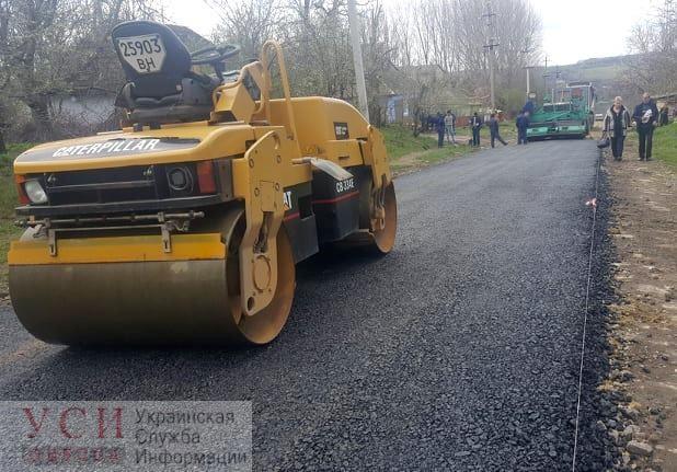 И года не прошло: жителям Кодымского района после коллективной жалобы отремонтировали дорогу (фото) «фото»