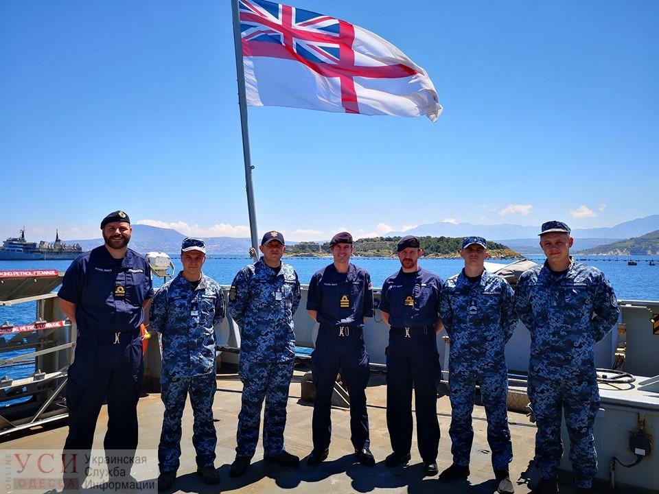 Одесские моряки прошли стажировку на корабле-разведчике ВМС Великобритании (фото) «фото»