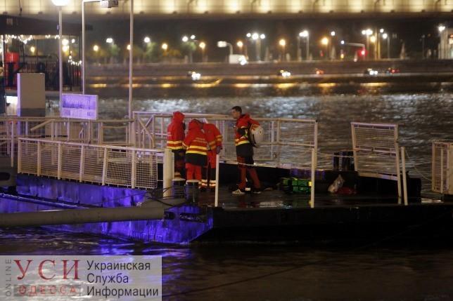 Полиция задержала одесского капитана, который врезался на теплоходе в затонувший катер в Будапеште «фото»
