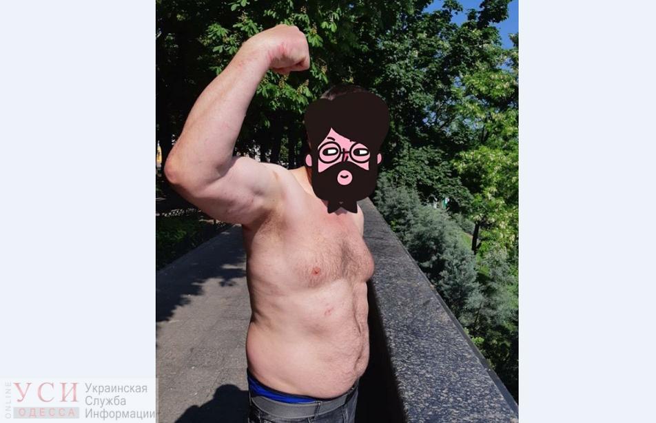 На Думской задержали полуголого и неадекватного экс-милиционера из Крыма (фото) «фото»