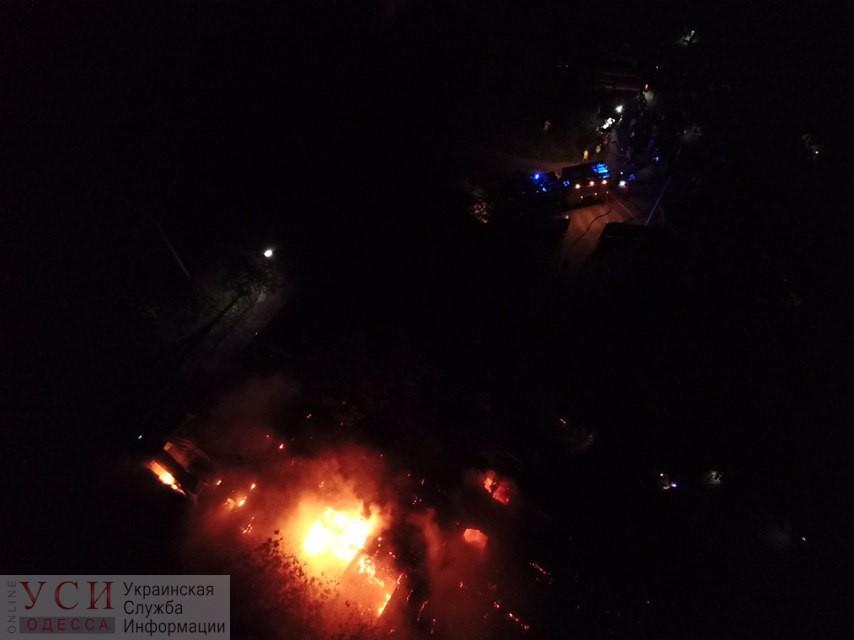 Пожар в психбольнице на Воробьева: пожарным не хватало воды, сгорел почти весь корпус (фото, видео) «фото»