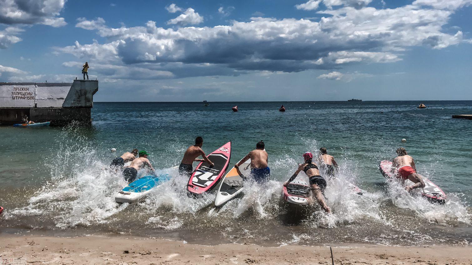 Одесситы массово заплыли на каяках и установили рекорд (фоторепортаж) «фото»