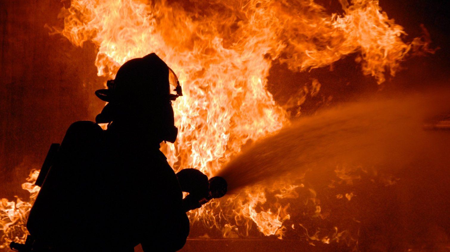 В курортном поселке под Одессой тушили крупный пожар «фото»