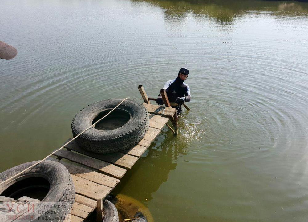 В Дачном из пруда достали утопленника «фото»