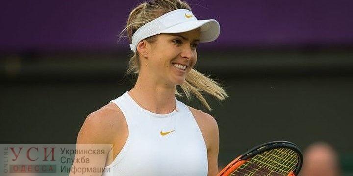 Одесская теннисистка прошла в четвертый раунд престижного мирового турнира в Уимблдоне «фото»