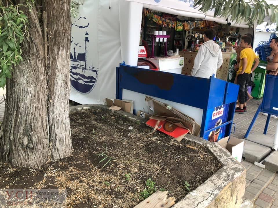 В Лузановке предпринимателей будут штрафовать, если они не уберут мусор «фото»