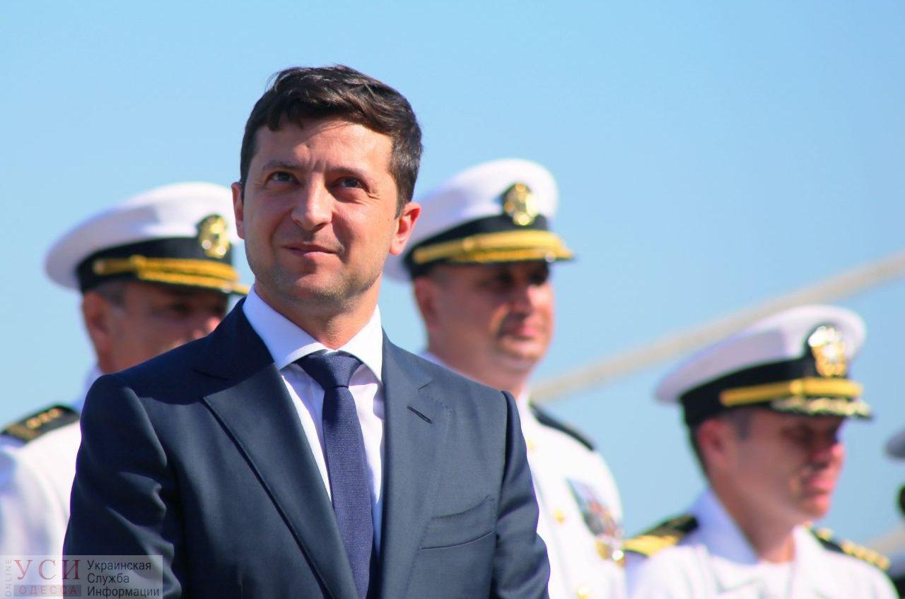 Зеленский в Одессе пообещал назначить нового губернатора через неделю «фото»