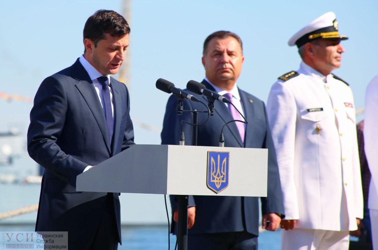 Зеленский впервые, как президент, прибыл в Одессу на День Военно-морских сил Украины (фото, видео) «фото»
