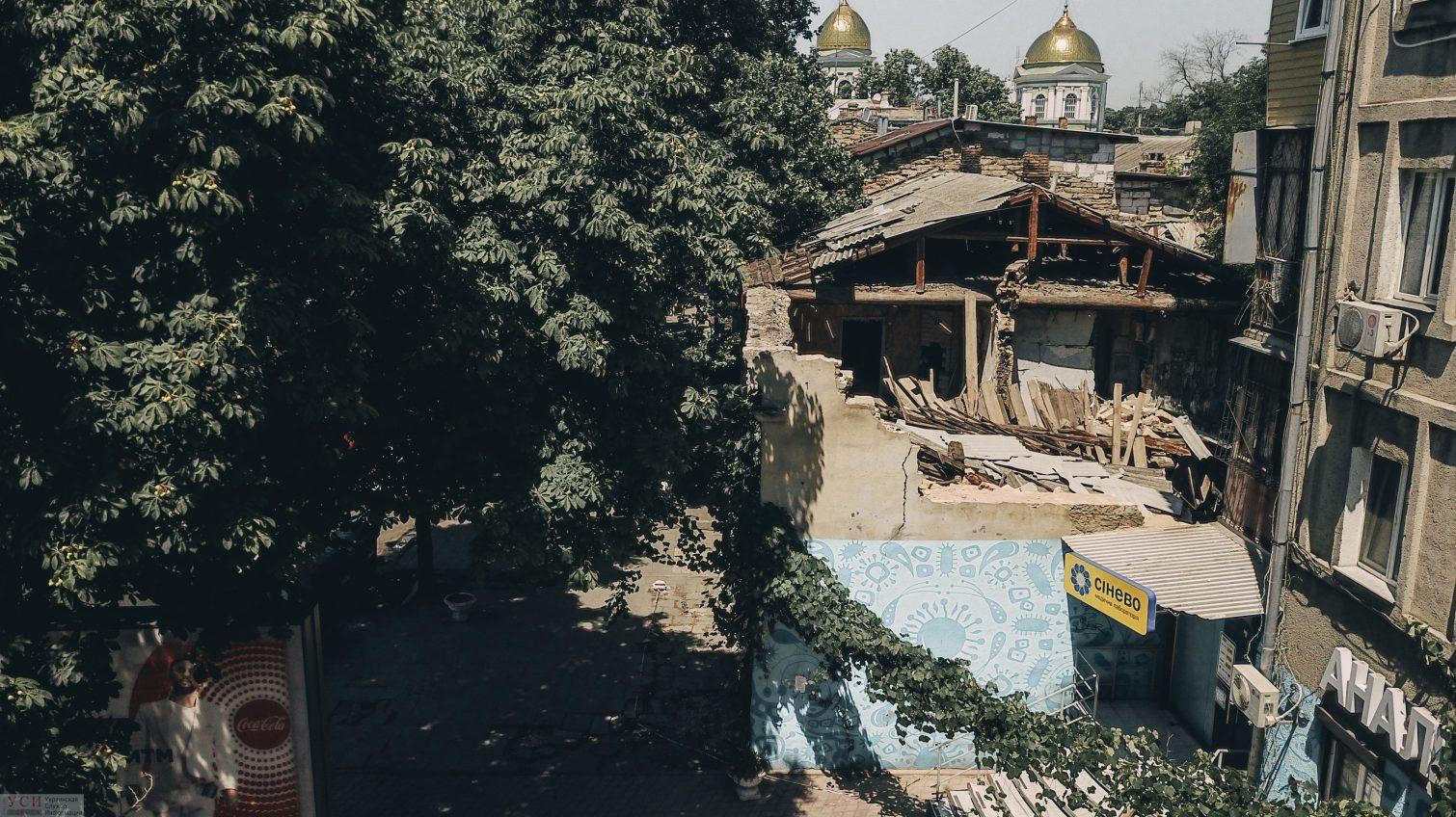 Место бедствия: дом-призрак в центре Одессы официально уже давно снесен (видео) «фото»