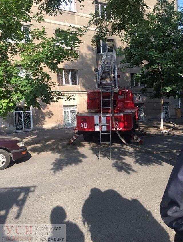На Пишоновской пожар в общежитии Медина «фото»