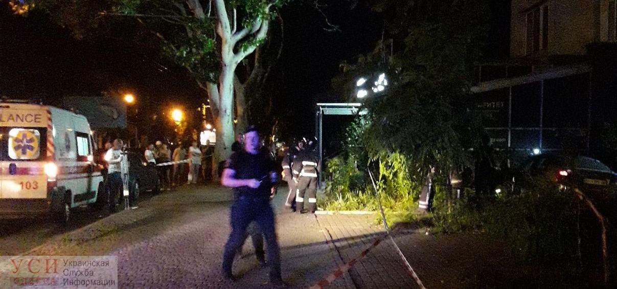 Трагическая авария на Адмиральском: водитель, которого преследовала полиция, влетел в дерево и сбил нескольких человек (фото) «фото»