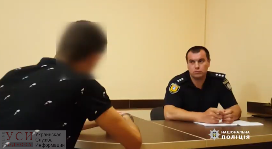 Одесские полицейские задержали подозреваемого в убийстве студента из Марокко (видео) «фото»