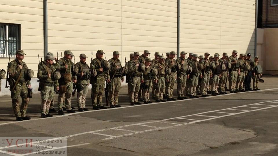 Одесский спецбатальон «Шторм» отправился на фронт (фото) «фото»