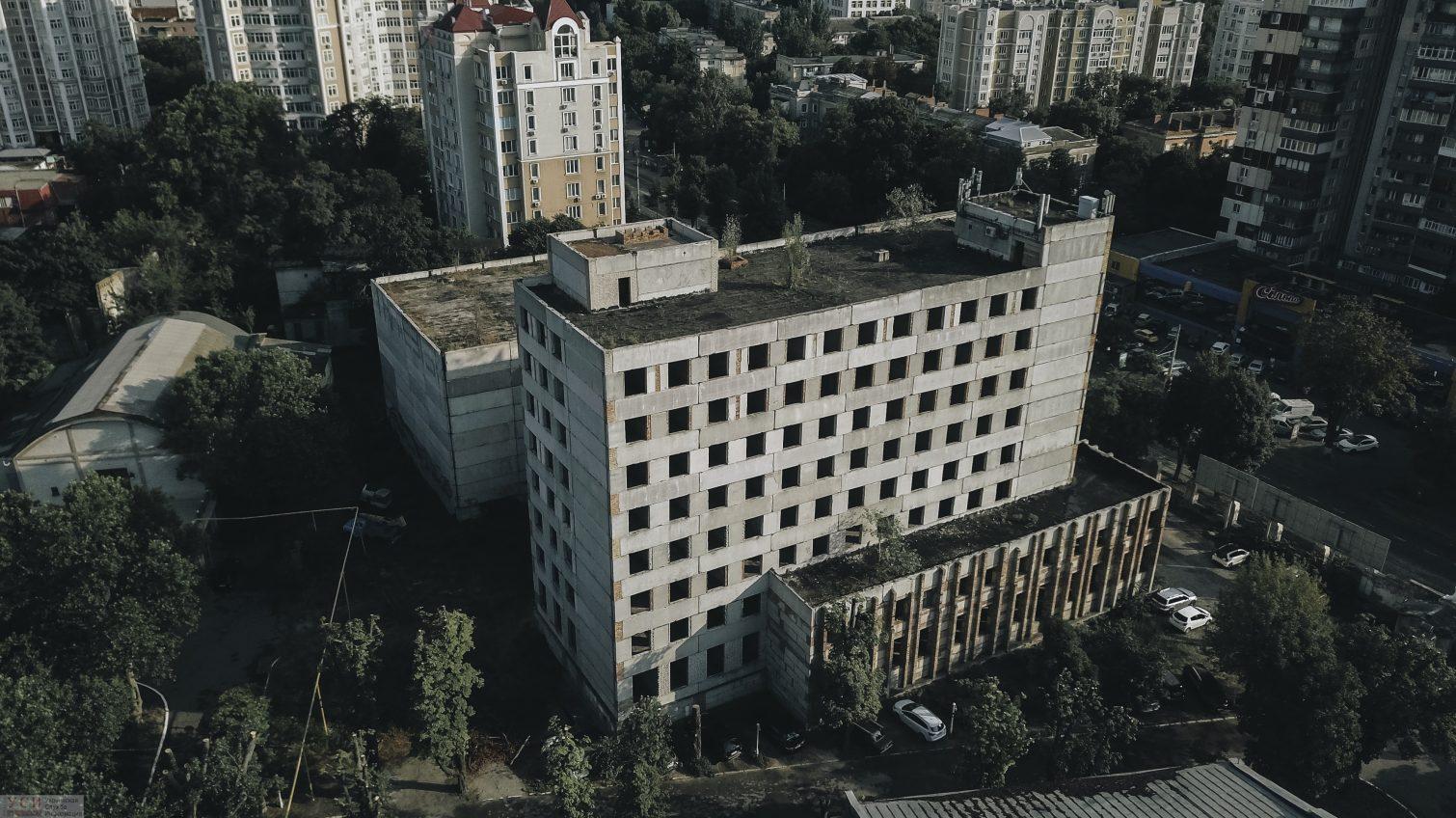 Место бедствия: недострой Одесской киностудии на Французском бульваре (фото, видео) «фото»