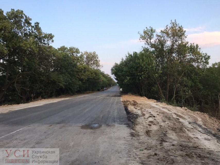Под Одессой экстренно восстановили трассу, которую размыло сильным ливнем (фото) «фото»