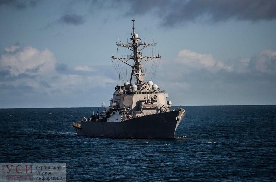 Американский ракетный эсминец «USS Porter» направляется в Черное море «фото»
