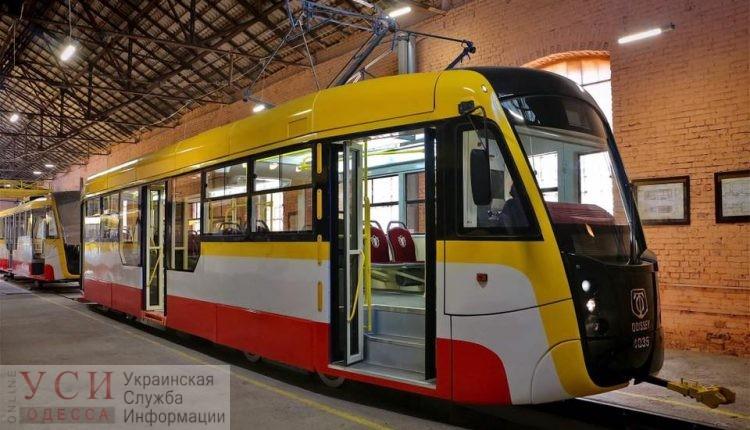 В Одессе готовятся запустить первый многосекционный трамвай «фото»