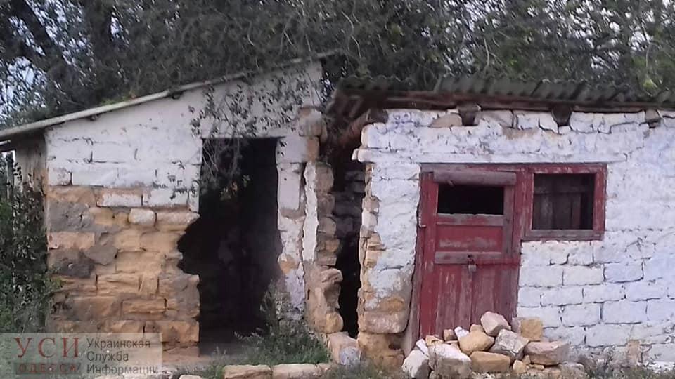 В селе Перемога под Одессой школьники пользуются уличным туалетом, в котором на каникулах рухнула стена (фото) «фото»