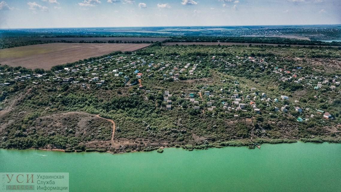 Хаджибейский лиман с высоты: зелено-голубая безмятежность вблизи курортов (фото) «фото»