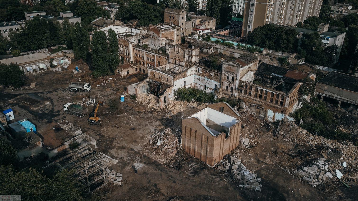Место бедствия: руины старинного пивзавода стали площадкой под застройку (фото, видео) «фото»
