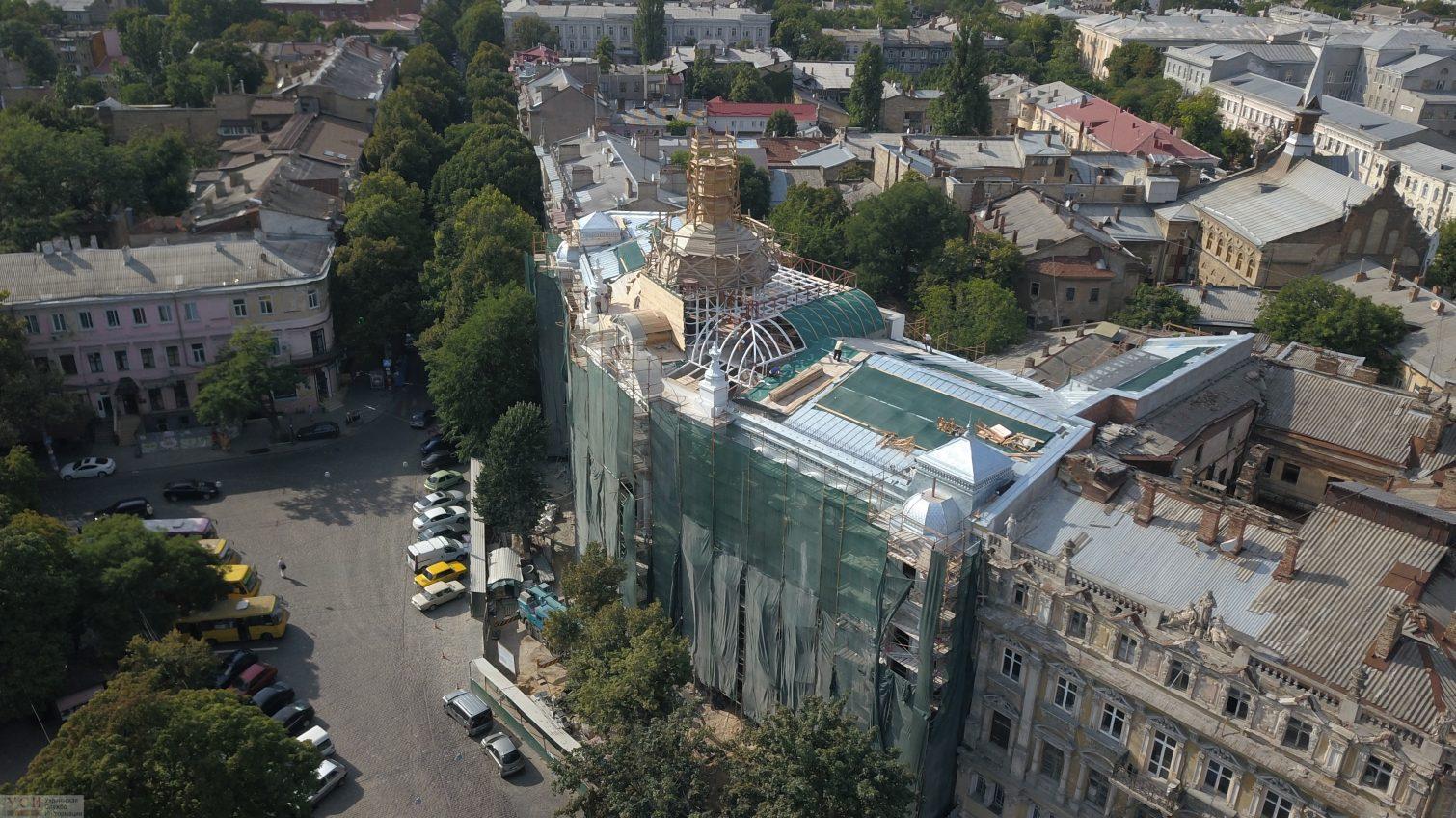 Реставрация дома Руссова продолжается: скоро начнут красить фасад (фото) «фото»