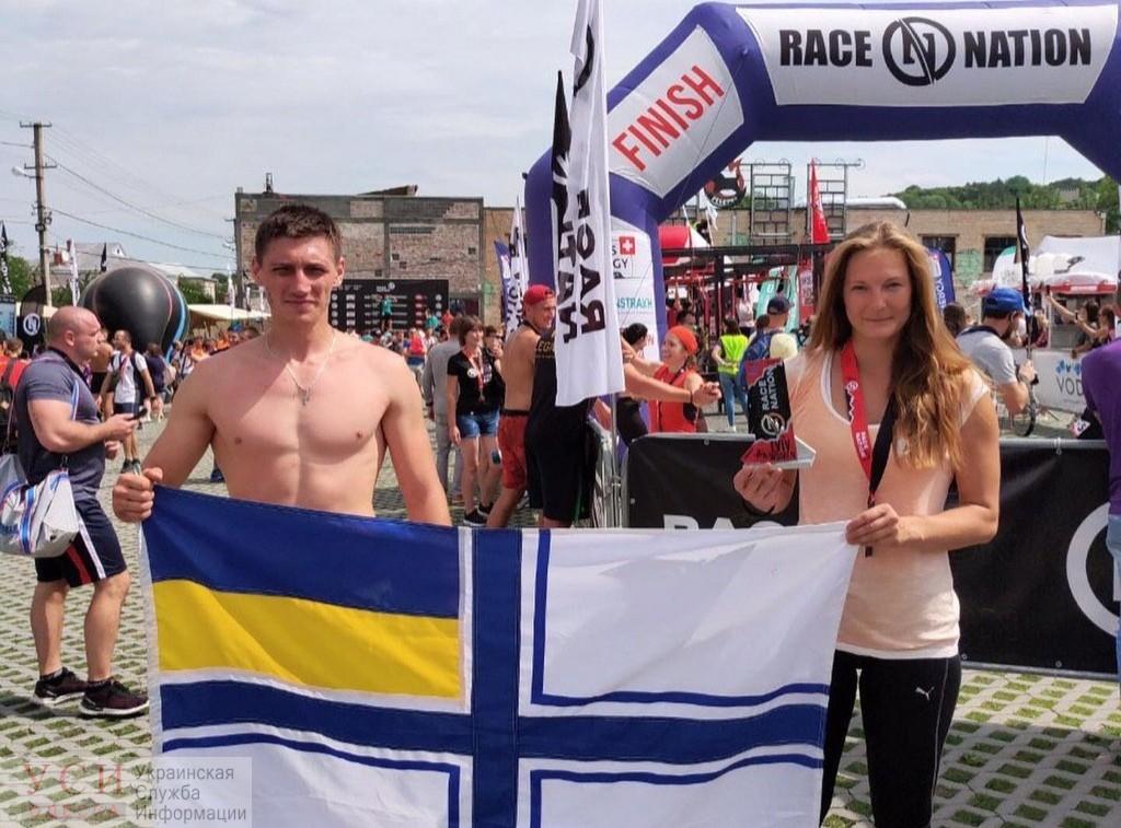 Библиотекарь из одесского Института ВМС заняла второе место в международном забеге с препятствиями «Race Nations» «фото»