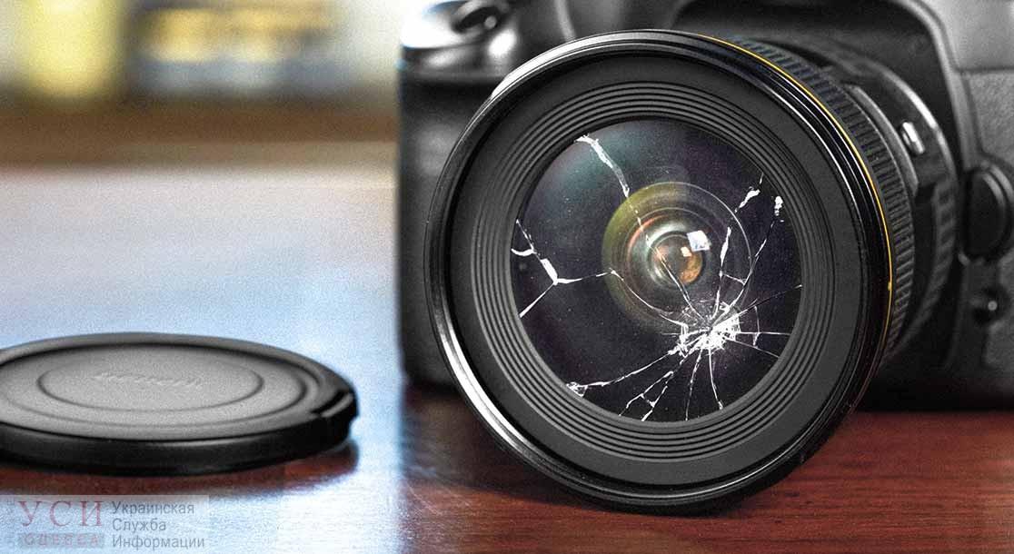 На одесских журналистов напали в лотомаркете «фото»