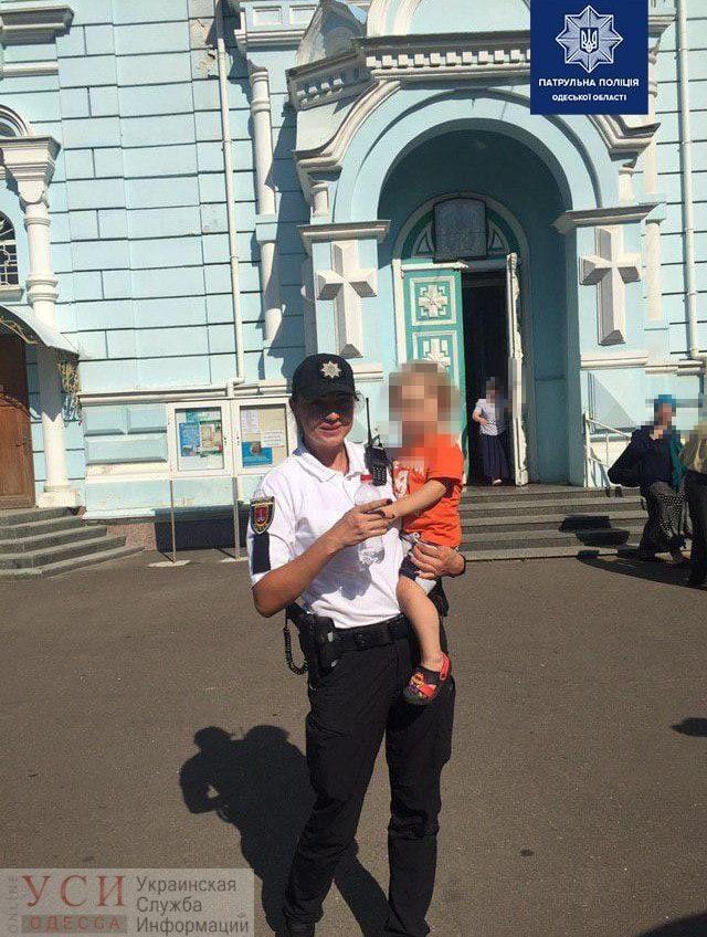 В Одессе нашли двухлетнего мальчика, который гулял по кладбищу «фото»